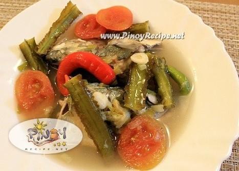 Sinigang na Isda at Sigarilyas Recipe - Filipino Recipes Portal | Filipino Recipes Collection | Scoop.it
