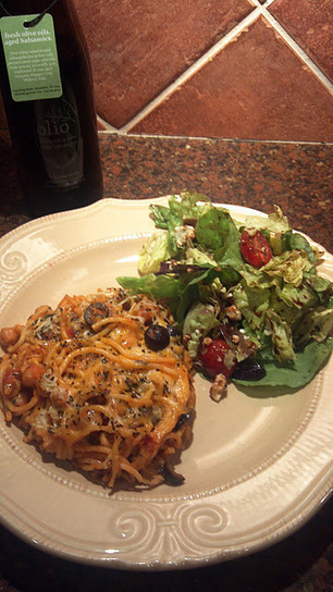 ~Val'sFoodandOrArt~: Recipes ~ Baked Meatless Spaghetti, the High Fiber, Healthier Way! ~ | Food for Foodies | Scoop.it