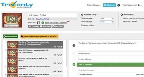 Triventy. Des quiz interactifs pour apprendre en jouant – Les Outils Tice | outils numériques pour la pédagogie | Scoop.it