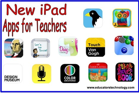 A Round-up of 12 New Educational iPad Apps for Teachers | Technology in Art And Education | Scoop.it