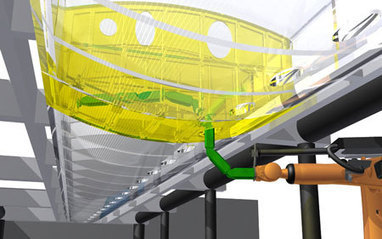Snake-like robot advances automated assembly of aircraft wings | Technological Unemployment | Scoop.it