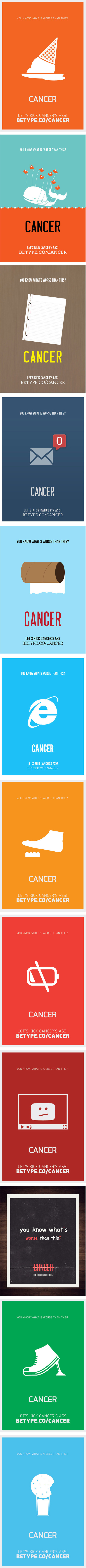 Graphisme & interactivité blog par Geoffrey Dorne » Cancer et humour… et oui c'est possible ! | aquarium | Scoop.it
