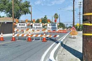 Orange cones, barricades turn up in force on streets of Chino - Chino Champion | Traffic Cones | Scoop.it