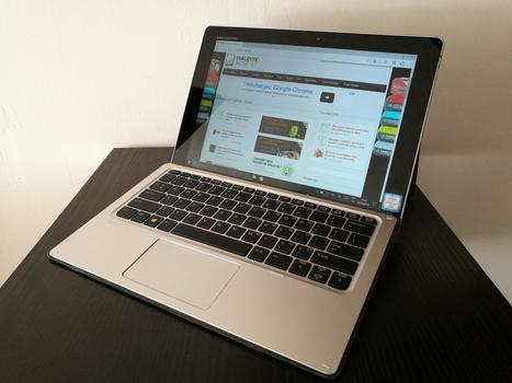 Notre test de l'hybride HP Elite x2 - Tablette-Tactile.net   L'innovation par les usages   Scoop.it
