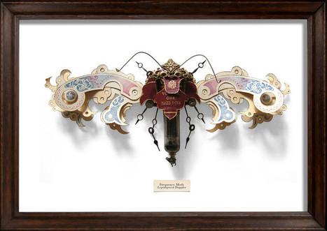 'Litter Bugs', A Series Of #Sculptural #Insects By Mark Oliver . #foundobjects   Luby Art   Scoop.it