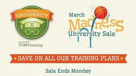 March Madness University Sale - Joomlashack | Digital Learning, Technology, Education | Scoop.it