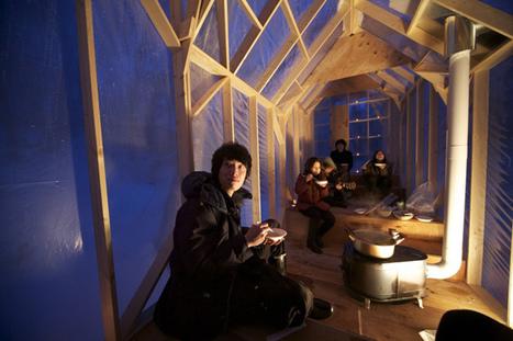 北海道冬天裡最溫暖的避寒所「Fragile Shelter」 | 建築 | Scoop.it