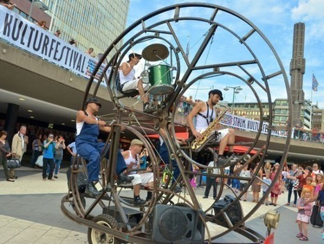 Rodafonio - The #Craziest #Musical #Contraption Ever Created. #art #sculpture | Luby Art | Scoop.it