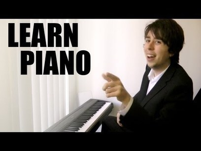 Want to play piano, but don't know how to play piano? That's okay, let's just play piano. | Écriture et droits d'auteur | Scoop.it