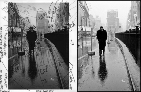 Marked Up Photographs Show How Iconic Prints Were Edited in the Darkroom   Visual Culture and Communication   Scoop.it