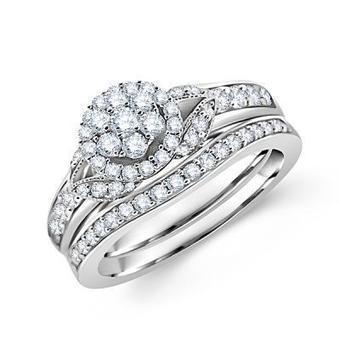 Designer Round Diamond Rings and Wedding Bridal Set - Los Angeles | Wedding Ring | Scoop.it