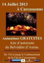 Tourisme.fr : Bon plan 14 juillet à Carcassonne : Carcassonne | 14 juillet 2013 à Carcassonne | Scoop.it