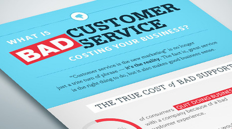 What Bad Customer Service is Costing Your Business | GR8 Infographics inside | IT- BIAS Corporation | Scoop.it