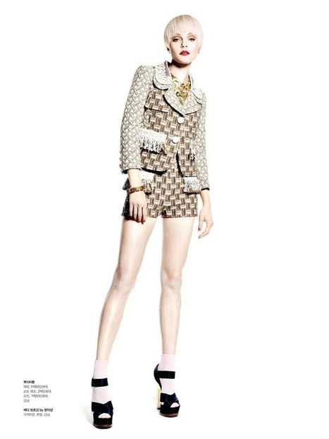 Jessica Stam Poses for Victor Demarchelier in Spring Looks for S Magazine | TAFT: Trends And Fashion Timeline | Scoop.it