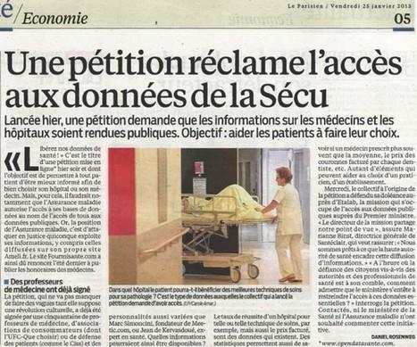 Liberté pour les données de Santé | Initiative transparence santé, le blog | health and news | Scoop.it