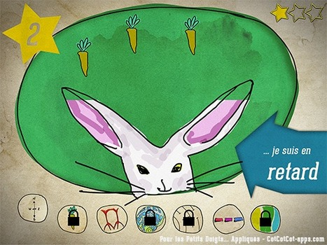 Pour les Petits Doigts... Appliqués - CotCotCot-apps.com | Must Read articles: Apps and eBooks for kids | Scoop.it