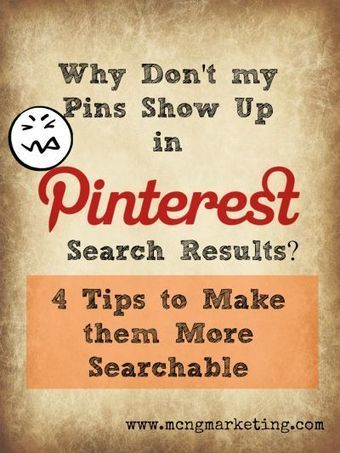 4 Pinterest Tips to Make Your Pins More Searchable on Pinterest - | Artdictive Habits : Sustainable Lifestyle | Scoop.it