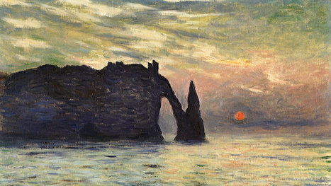 Astronomers know when Monet made this painting -- to the very minute | Strange days indeed... | Scoop.it