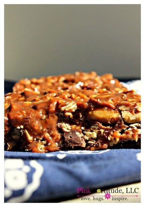Peanut Butter & Chocolate Protein Granola Bars - The Coconut Head's Survival Guide   ♨ Family & Food ♨   Scoop.it