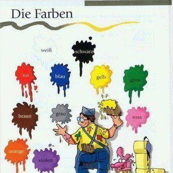 Die Farben (via Ich liebe Deutsch) | German at MESC | Scoop.it