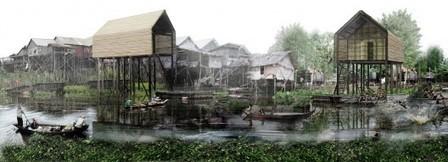 Propuesta de Vivienda Sustentable en Camboya / Architetto Matteo Ascani | The Architecture of the City | Scoop.it