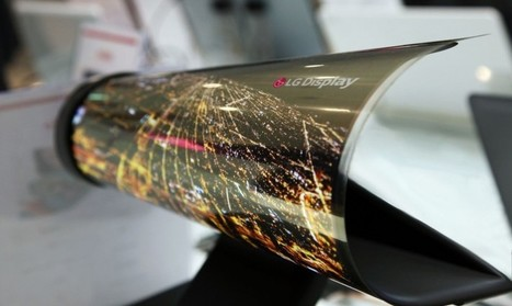 """LG Display zeigt """"aufrollbare"""" OLED Zeitung 