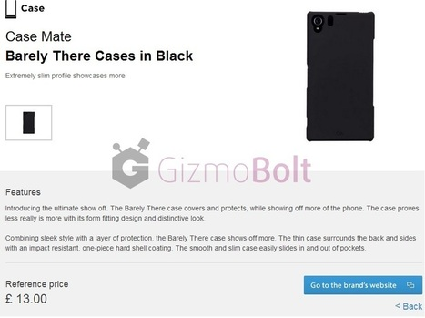 Made for Xperia website launched by Sony – Buy case, screen protectors | Gizmo Bolt | Scoop.it