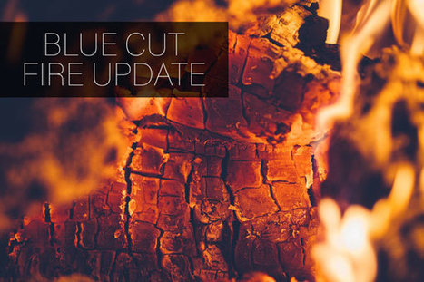 Blue Cut Fire Continues to Threaten Mountain Communities   California Personal Injury   Scoop.it