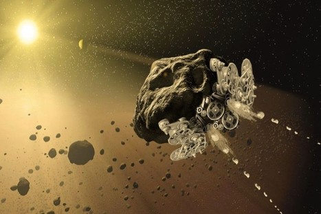 Can We Turn Asteroids into Spaceships? | Space matters | Scoop.it