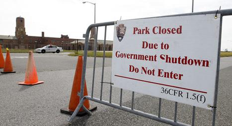 Federal shutdown vexes greens, pleases industry - Darren Goode   Sustain Our Earth   Scoop.it