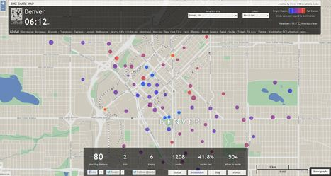 Bike Share Map | AP HUMAN GEOGRAPHY DIGITAL  STUDY: MIKE BUSARELLO | Scoop.it