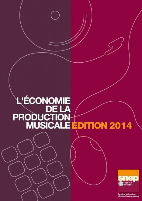 Economie de la Production Musicale - Edition 2014 - SNEP | Music Industry News | Scoop.it