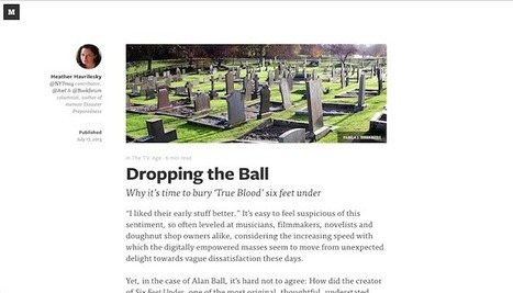 25 Extremely Readable Editorial Site Designs | Desing | Scoop.it