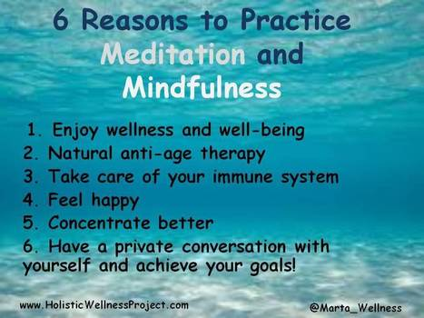 Mindfulness Meditation Benefits - Holistic Wellness Project | The Basic Life | Scoop.it