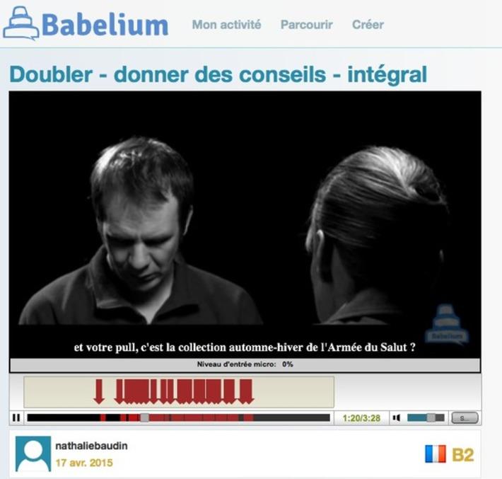 Travailler en autonomie la production orale en langues étrangères avec Babelium | TIC et TICE mais... en français | Scoop.it