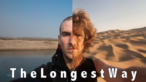 The Longest Way 1.0 - walk through China and grow a beard! - a photo every day timelapse - YouTube   Visual   Scoop.it