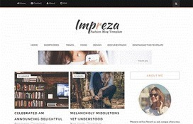 Impreza | Blogger themes | Scoop.it