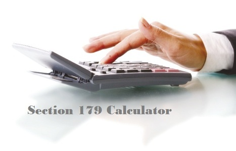 Section 179 Calculator | News | Scoop.it
