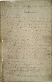 The Posterity Project: Emancipation Proclamation on display at Tennessee State Museum | Tennessee Libraries | Scoop.it