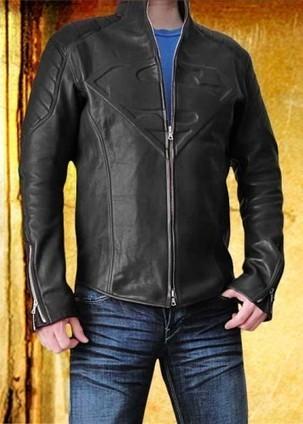 Smallville Jacket  Black Clark Kent Jacket   Black Smallville Superman Leather Clark Kent Costume   Scoop.it