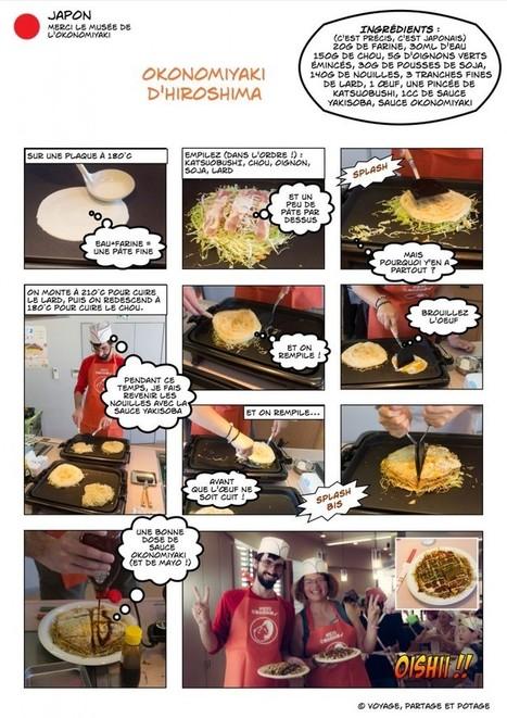 Brèves nippones #5 - L'okonomiyaki et son musée • Voyage, Partage et Potage | Cuisine japonaise | Scoop.it