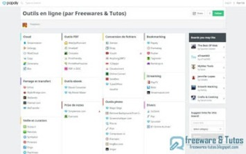 Catalogue de services en ligne gratuits répertoriés par Freewares & Tutos ~ Freewares & Tutos | TIC et TICE mais... en français | Scoop.it