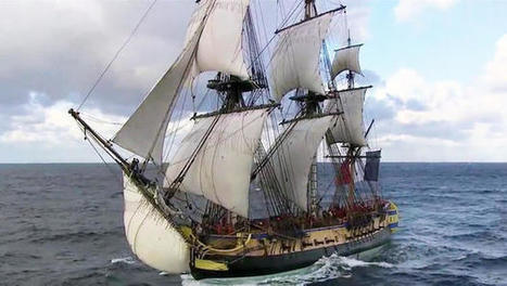 Historic Revolutionary War-replica ship sets sail for US - CBS News | US History | Scoop.it