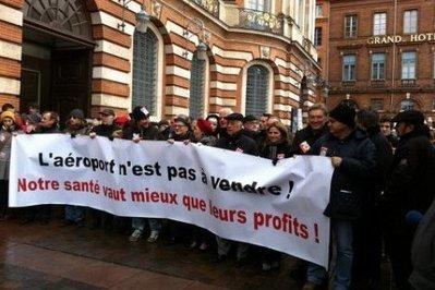 Aéroport: Les opposants à la privatisation défilent dans Toulouse | Toulouse La Ville Rose | Scoop.it