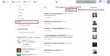 Twitter lance la recherche dans les Timelines et les Listes - #Arobasenet | François MAGNAN  Formateur Consultant | Scoop.it