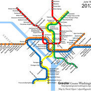 Evolution of DC's Metrorail | Geography Education | Scoop.it