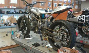 Zanotti Kawasaki 650 | California Flat Track Association (CFTA) | Scoop.it