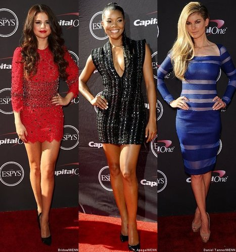 Selena Gomez, Gabrielle Union and Marisa Miller Rock Red Carpet at ESPY ... - AceShowbiz | From the red carpet! | Scoop.it