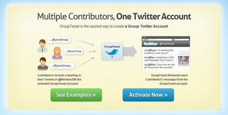 GroupTweet Makes It Easy For Your Entire Team To Manage A Single Twitter Account | Twitter Toolbox | Scoop.it
