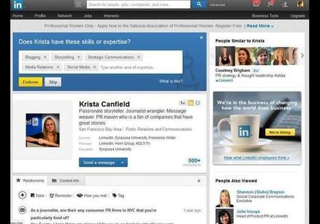 LinkedIn - In Photos: The 10 Best Websites For Your Career - 2013 | Social Media Feed | Scoop.it